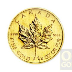 0.25_oz_Canadian_Maple_Leaf_Gold_Coin