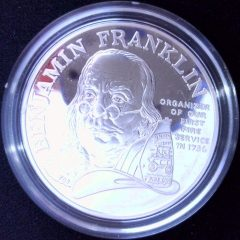 first-fire-service-silver-coin-franklin
